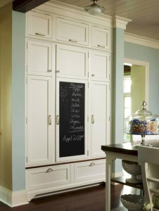 Inspiring ways to use a chalkboard paint on a kitchen 02