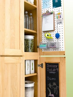 Inspiring ways to use a chalkboard paint on a kitchen 09