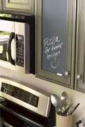 Inspiring ways to use a chalkboard paint on a kitchen 21