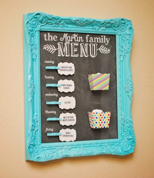 Inspiring ways to use a chalkboard paint on a kitchen 28