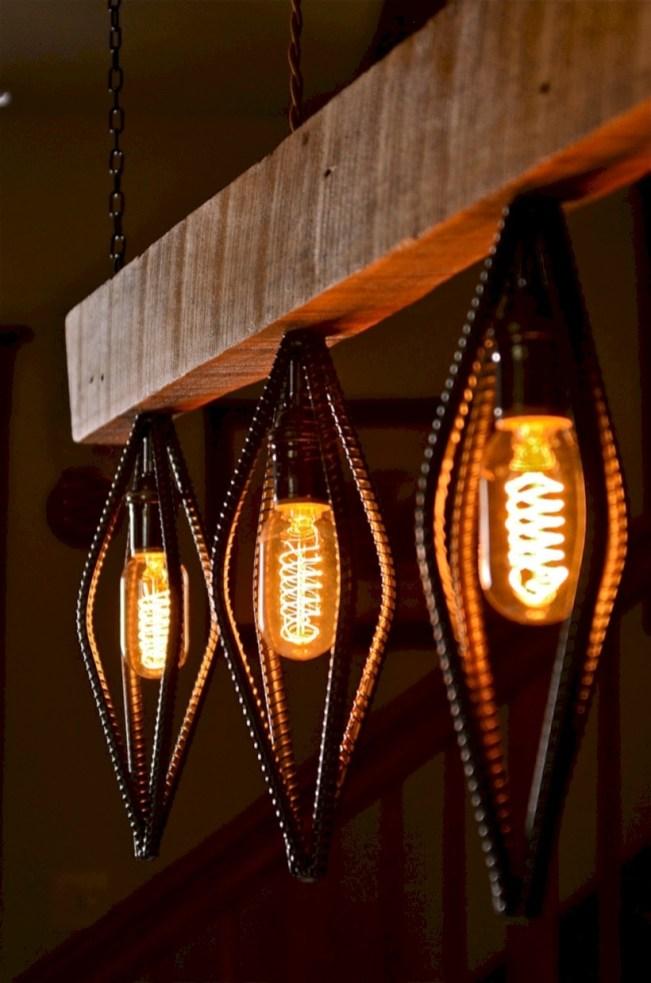 Savvy handmade industrial decor ideas 39