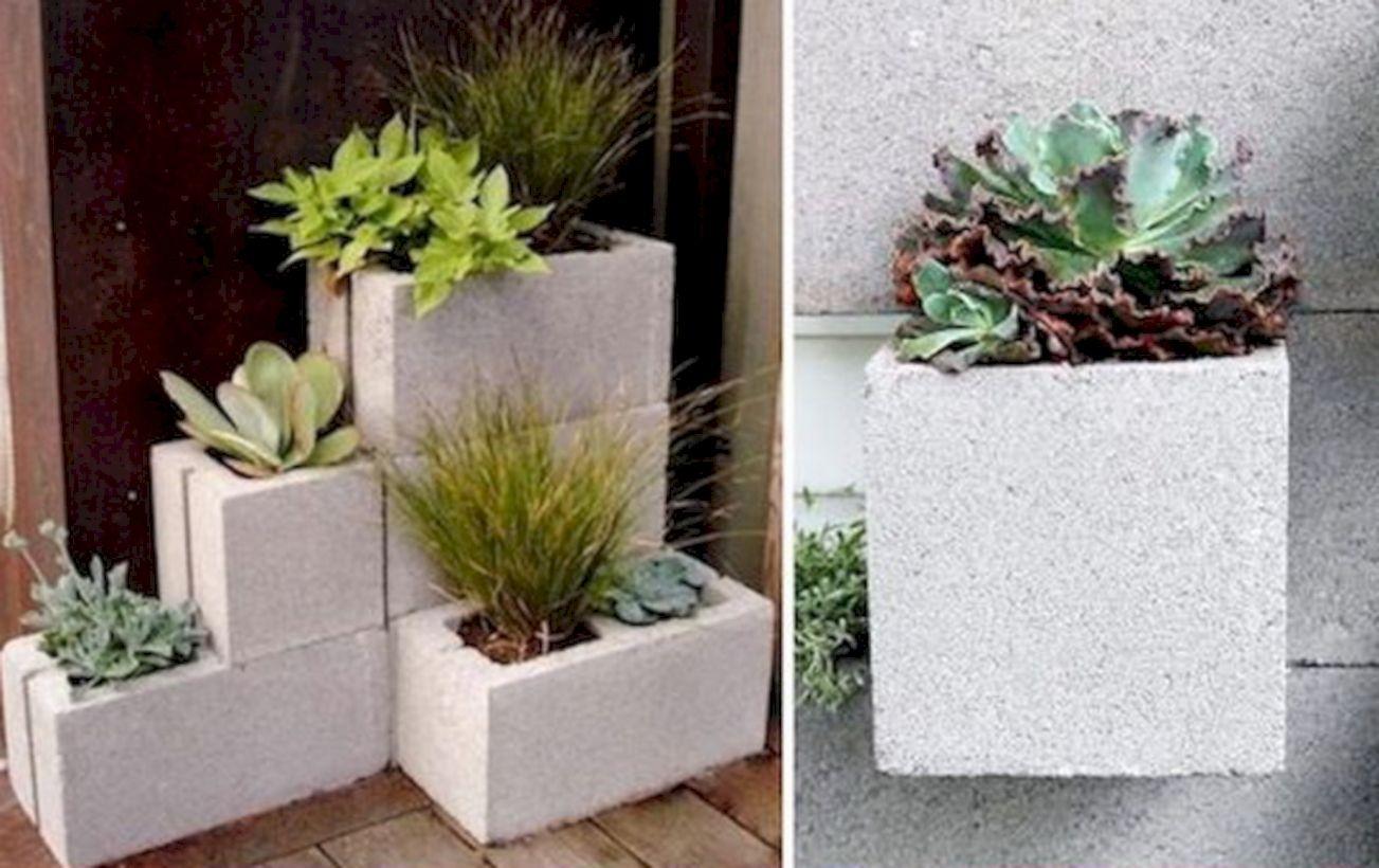 38 Ways To Decorate Your Garden Using Cinder Blocks