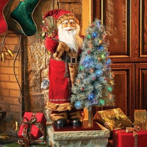 Adorable indoor animated christmas figures 38