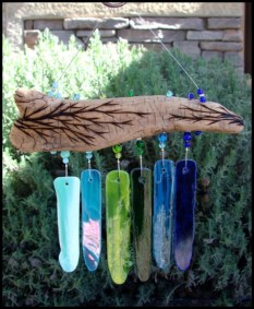 Beautiful beaded wind chime to add sparkle to the garden 20