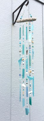 Beautiful beaded wind chime to add sparkle to the garden 22