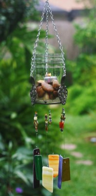 Beautiful beaded wind chime to add sparkle to the garden 23