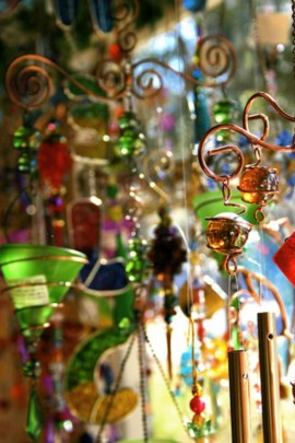 Beautiful beaded wind chime to add sparkle to the garden 27