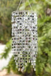Beautiful beaded wind chime to add sparkle to the garden 28