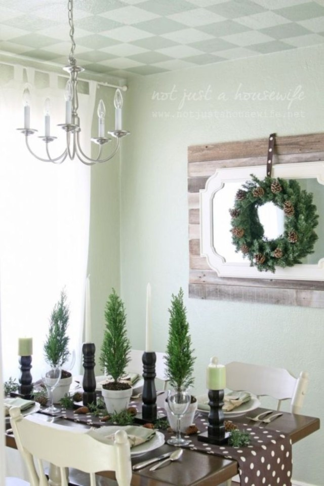 Christmas tablescape with you and show you how i made some inexpensive candlesticks