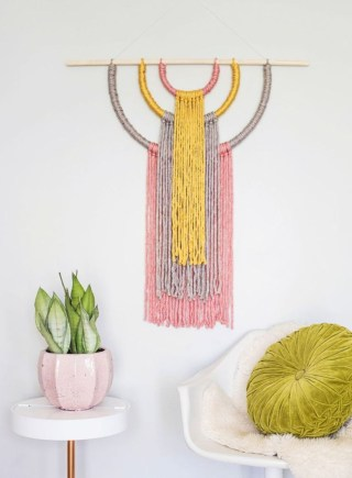Diy easy macrame for home living 23