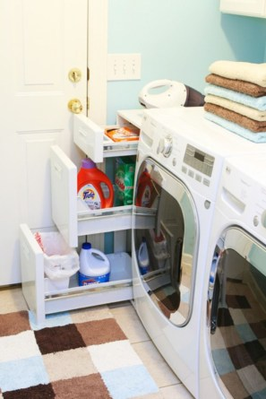 Diy ideas for your laundry room organizer 16