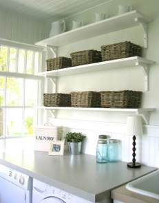 Diy ideas for your laundry room organizer 26