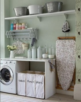 Diy ideas for your laundry room organizer 42