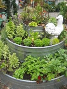 Diy indoor container water garden ideas 37