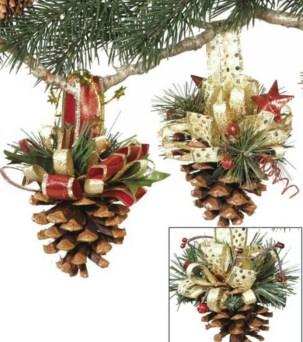 Diy ribbon ornament for christmas 15