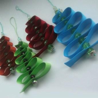 Diy ribbon ornament for christmas 16