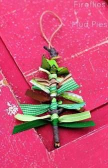 Diy ribbon ornament for christmas 29