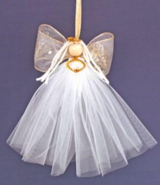 Diy ribbon ornament for christmas 36