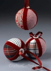 Diy ribbon ornament for christmas 43
