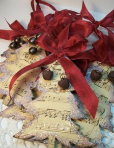 Diy ribbon ornament for christmas 45