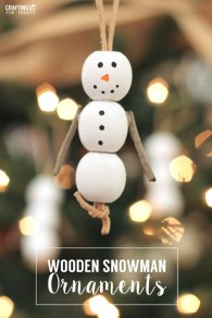 Diy snowman ornament for christmas 02
