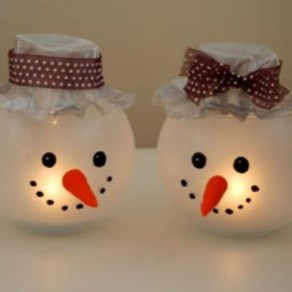 Diy snowman ornament for christmas 03