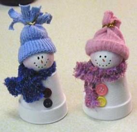 Diy snowman ornament for christmas 05