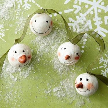 Diy snowman ornament for christmas 08
