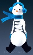 Diy snowman ornament for christmas 10