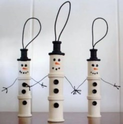 Diy snowman ornament for christmas 11