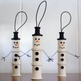 Diy snowman ornament for christmas 11
