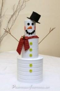 Diy snowman ornament for christmas 12