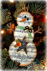 Diy snowman ornament for christmas 21