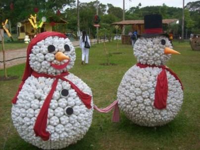 Diy snowman ornament for christmas 29