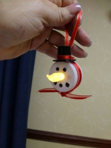 Diy snowman ornament for christmas 30