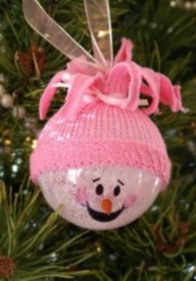 Diy snowman ornament for christmas 41