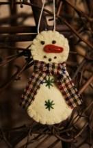 Diy snowman ornament for christmas 42