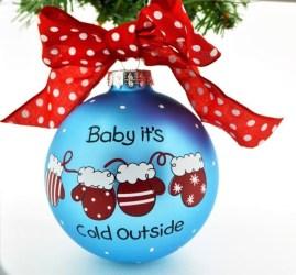 Easy but beautiful diy christmas ornaments 01