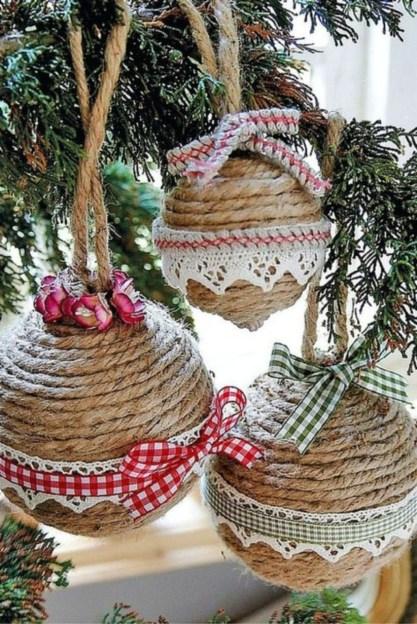 Easy but beautiful diy christmas ornaments 27