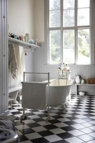 Elegant black herringbone tiles for your space 12