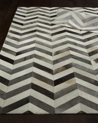 Elegant black herringbone tiles for your space 35