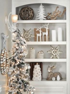 Elegant decorating ideas for white christmas 08