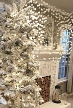 Elegant decorating ideas for white christmas 09