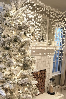 Elegant decorating ideas for white christmas 09