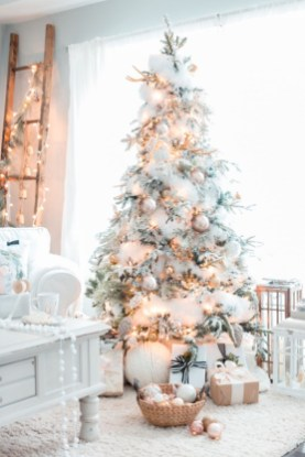 Elegant decorating ideas for white christmas 15