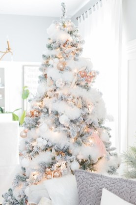 Elegant decorating ideas for white christmas 17