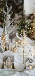Elegant decorating ideas for white christmas 22