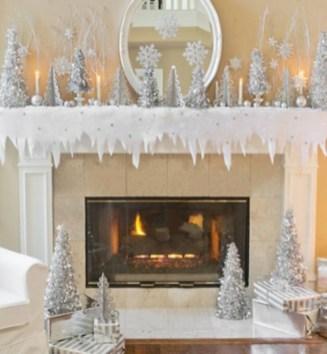 Elegant decorating ideas for white christmas 25