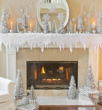 Elegant decorating ideas for white christmas 25