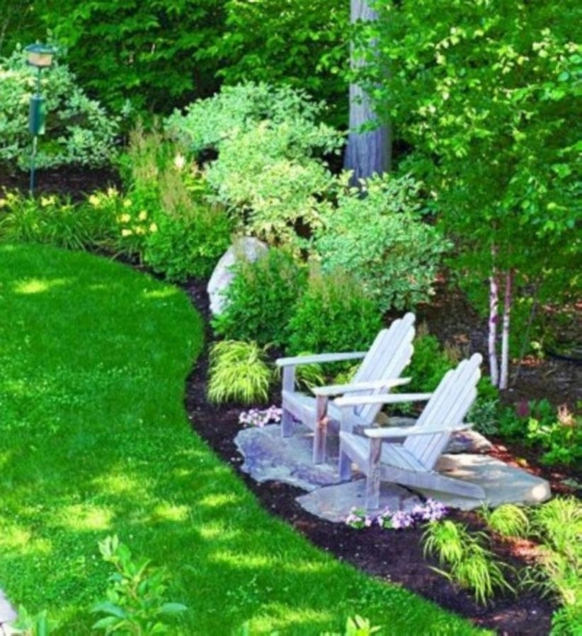 Fresh backyard landscaping ideas with your friend